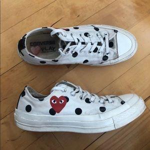 Authentic Comme Des Garcons Converse Sneakers
